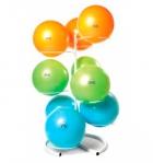 Стойка для гимнастических мячей, платиновая на 9 мячей 9GBR (SKYFIT)