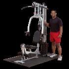 Многофункциональный тренажер с одним весовым стеком (Body-Solid POWERLINE)