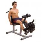 Сгибание ног лёжа  разгибание ног сидя GLCE-365 (BodySolid POWERLINE)