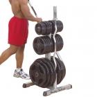 Стойка для олимпийских дисков и олимпийских грифов GOWT (Body-Solid POWERLINE)