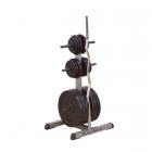 Стойка для стандартных дисков и олимпийских грифов GSWT (Body-Solid POWERLINE)