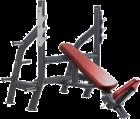 Олимпийская наклонная скамья KFOIB (KRAFT FITNESS FREE WEIGHT LINE)