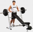 Универсальная скамья для жима олимпийской штанги POB-44 (Body-Solid POWERLINE)