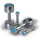 Набор хромированных гантелей SKYFIT NEW от 1 до 10кг, шаг 1 кг SF-CD1-10k (SKYFIT)