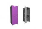 Шкаф двухсекционный, деление секций - горизонтально 400х500х2100 meb02