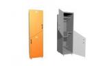 Шкаф двухсекционный, деление секций - по диагонали 400х500х2100 meb04