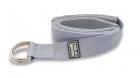 Ремешок для йоги 243 см, серый