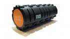 Цилиндр массажный 33 x 14 см черный двойной