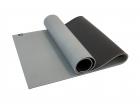 Мат для йоги двухслойный  6 мм Ulti-Mat серо-черный