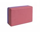 Блок для йоги бордовый-фиолетовый