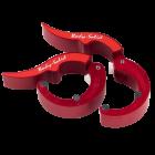 Замки алюминиевые ROEPKE красные (пара)