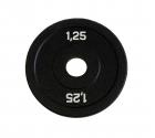 Диск бамперный 1,25 кг (черный)