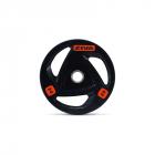 Диск олимпийский 25 кг ZIVA серии ZVO резиновое покрытие