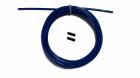 Трос с заглушками скоростной скакалки синий